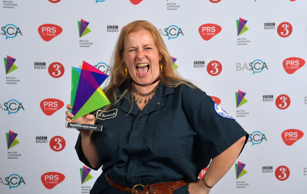 Emily scoops up gold at British Composer Awards!